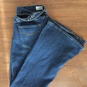 GAP 1969 Super Flare Jeans